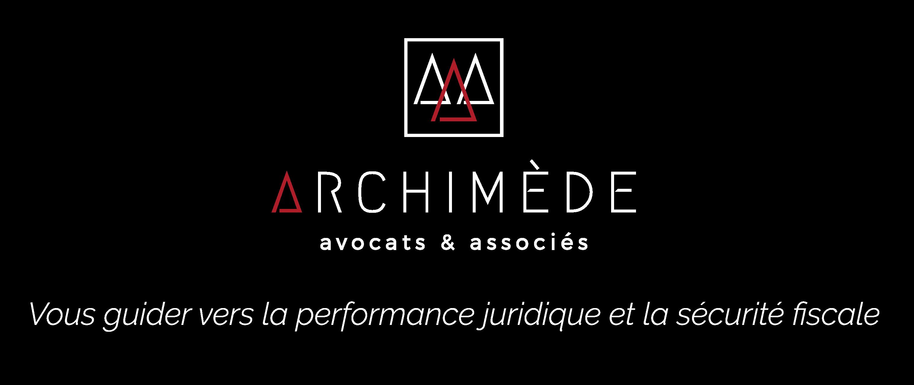 Logo Archimède + baseline